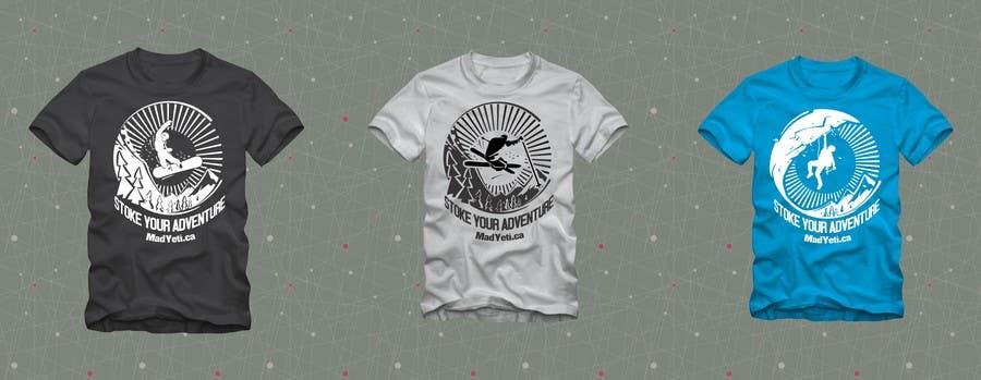 Inscrição nº                                         36                                      do Concurso para                                         Alpine Sport T Shirt Design (1 to 3 colors)
