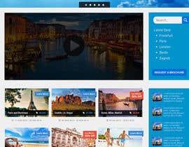 kenqdesign tarafından Design a Website Mockup for travel website için no 27
