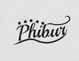 #218 for Design a Logo for Phibur Apparel af PerezLeandro