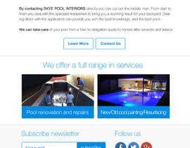 #39 cho Design a Website Mockup/Including Logo for Pool Renovation company bởi frantisekvarga