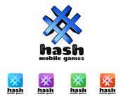 Graphic Design Konkurrenceindlæg #295 for Logo Design for #Hash Mobile Games