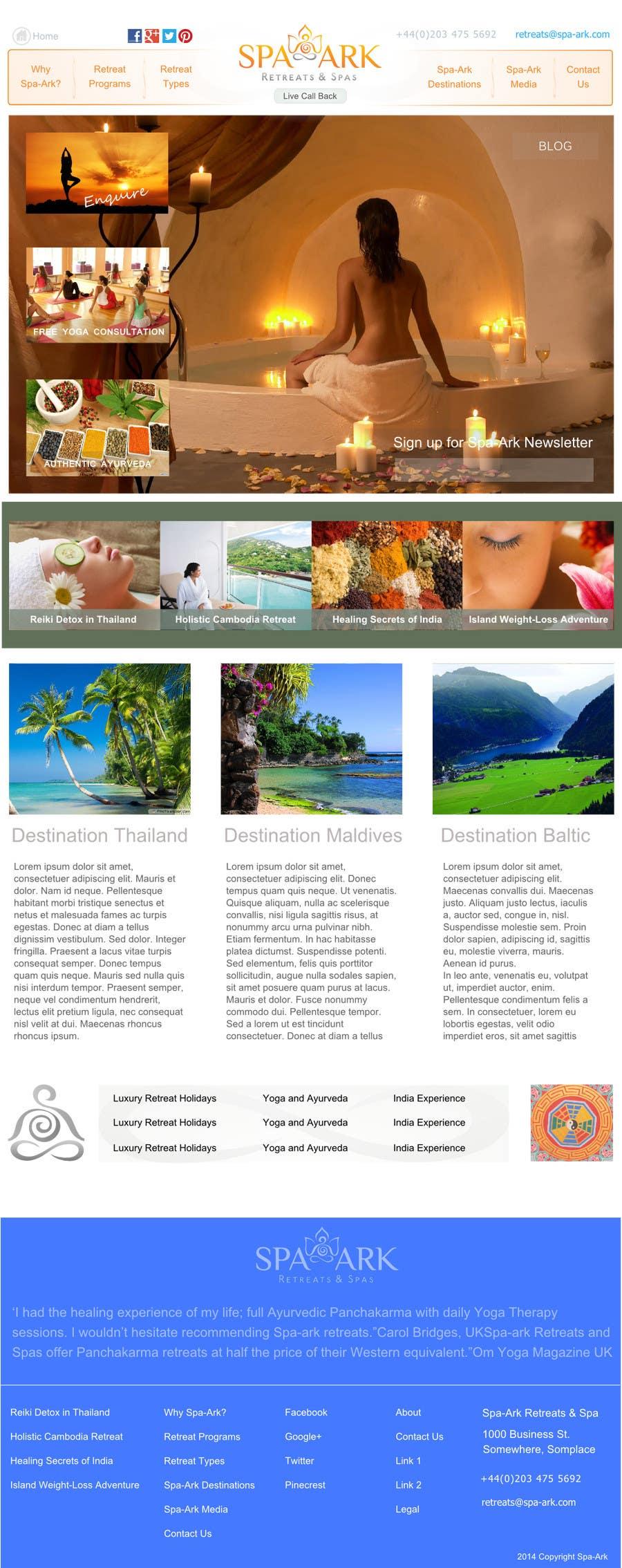 Inscrição nº                                         16                                      do Concurso para                                         Design a Wordpress Template for Travel Website