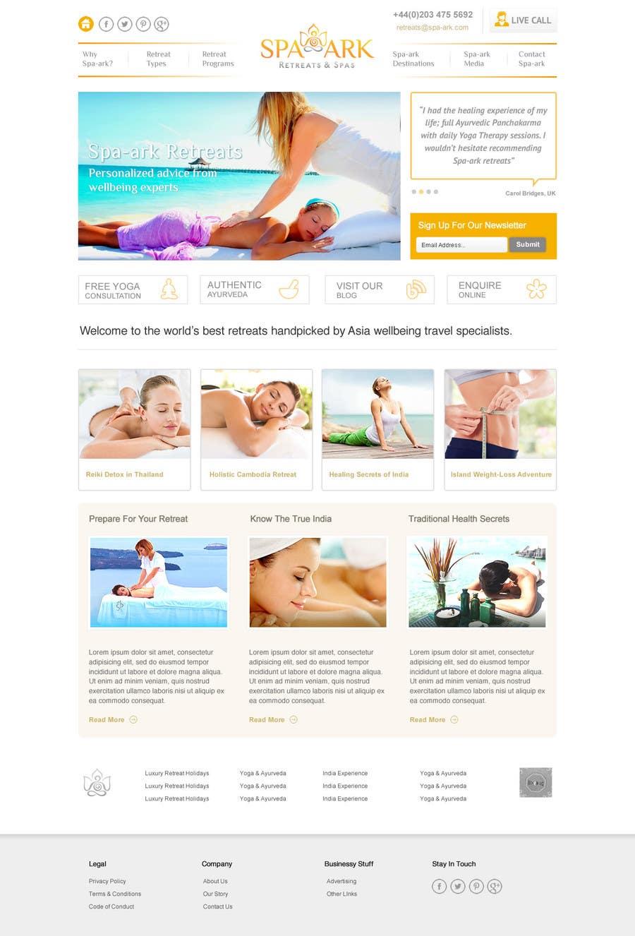 Inscrição nº                                         41                                      do Concurso para                                         Design a Wordpress Template for Travel Website