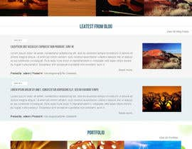 #31 para Design a Wordpress Template for Travel Website por habib643482