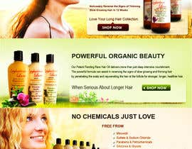 #13 для Banner Ad Design for 3 Organic Hair Care Website от babugmunna