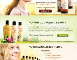 #12 para Banner Ad Design for 3 Organic Hair Care Website por babugmunna