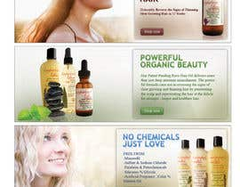 #2 para Banner Ad Design for 3 Organic Hair Care Website por mandrake2132
