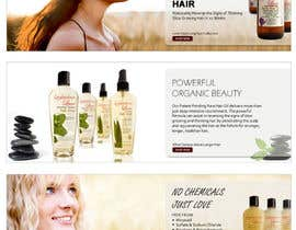 #1 para Banner Ad Design for 3 Organic Hair Care Website por su1d