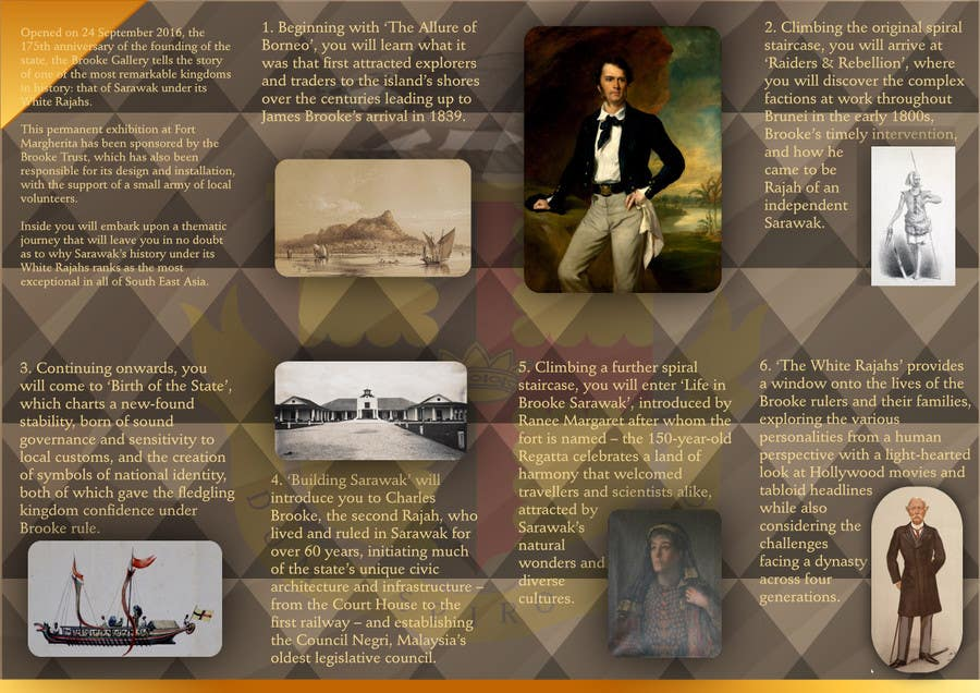 Contest Entry 57 For Design A Museum Fold Out Brochure