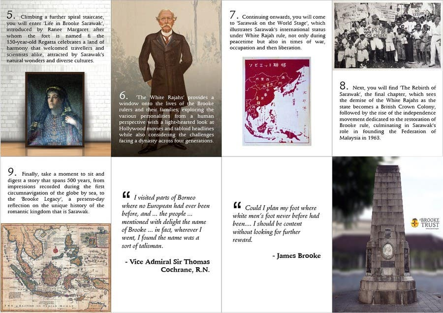 entry 83 by khans143 for design a museum fold out brochure freelancer