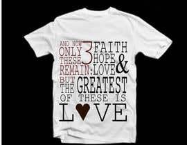 #109 untuk Design a T-Shirt for LOVE oleh WatchMeProgramme