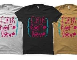 #40 untuk Design a T-Shirt for LOVE oleh DeeZineM