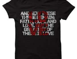 #51 untuk Design a T-Shirt for LOVE oleh DeeZineM