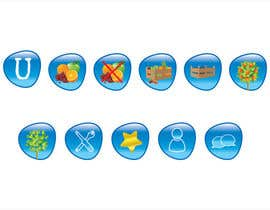 #48 untuk Icon or Button Design for UglyFruit oleh trangbtn