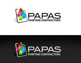 nº 429 pour Logo Design for Papas Painting Contractors par pinky