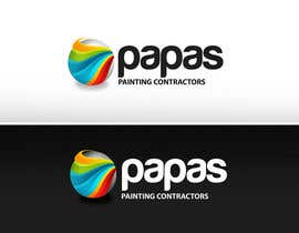 nº 430 pour Logo Design for Papas Painting Contractors par pinky