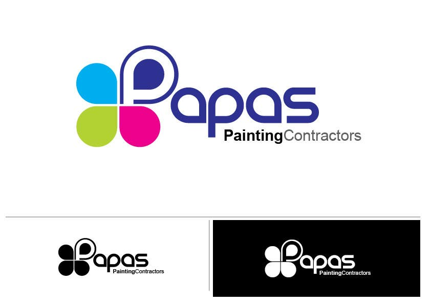Logo Design for Papas Painting Contractors