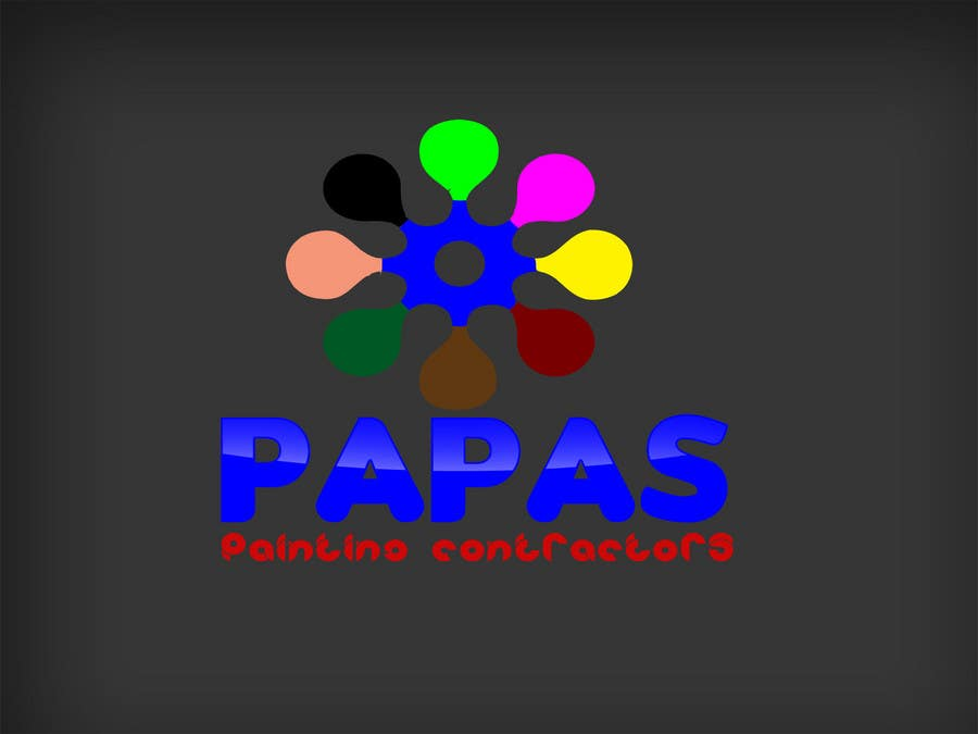 Contest Entry #                                        252                                      for                                         Logo Design for Papas Painting Contractors