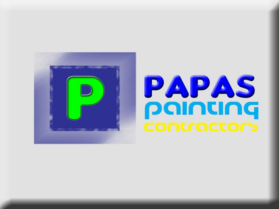 Contest Entry #                                        722                                      for                                         Logo Design for Papas Painting Contractors