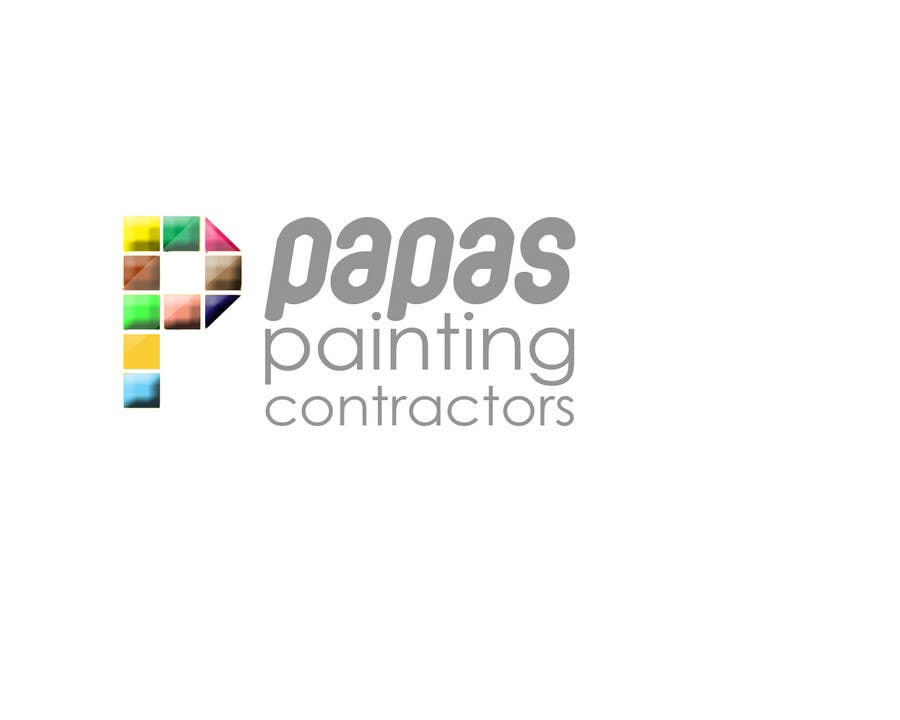 Contest Entry #                                        574                                      for                                         Logo Design for Papas Painting Contractors
