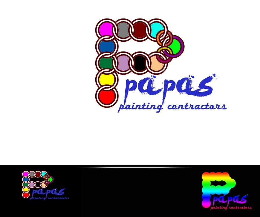 Contest Entry #                                        241                                      for                                         Logo Design for Papas Painting Contractors