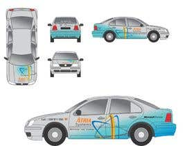 nº 3 pour Vehicle Wrap design for Atria Systems par guppyfish