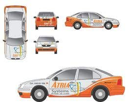 #1 untuk Vehicle Wrap design for Atria Systems oleh guppyfish