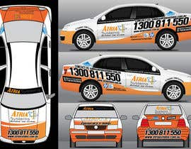 nº 9 pour Vehicle Wrap design for Atria Systems par PetaSmart