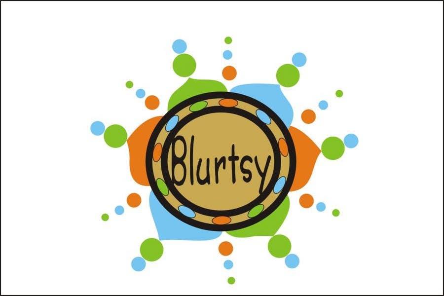 Inscrição nº                                         85                                      do Concurso para                                         Logo Design for Blurtsy