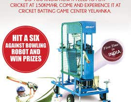 #4 untuk Advertising Poster for Cricket Batting Game Center oleh amcgabeykoon