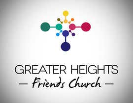 Nro 64 kilpailuun Design a Logo for Greater Heights Friends Church käyttäjältä vanessavbecerra
