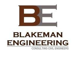 #151 for Logo Design for Blakeman Engineering af SteveReinhart