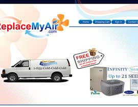 #170 para Logo Design for Replace My Air .com por prasanthmangad