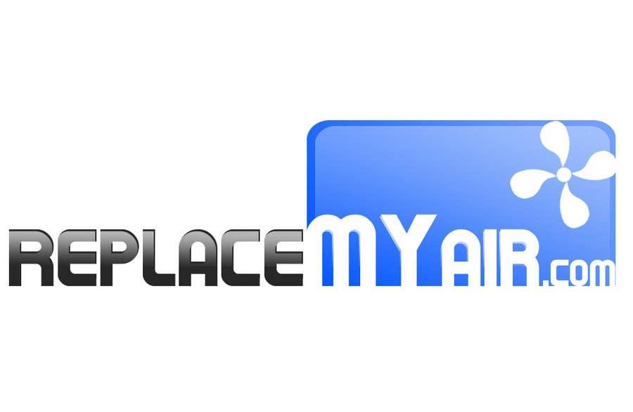 Penyertaan Peraduan #58 untuk Logo Design for Replace My Air .com