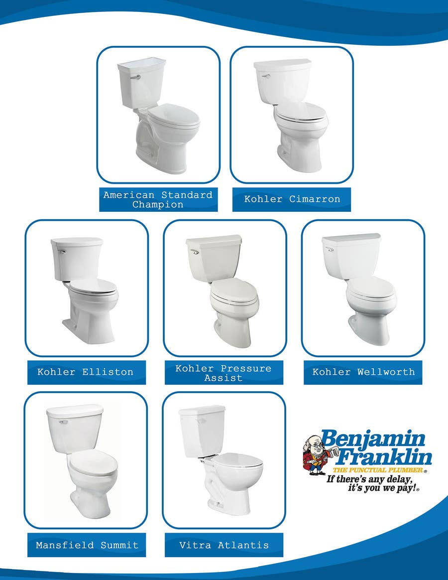 Entry #13 by happytum for Toilet Sales Sheet | Freelancer