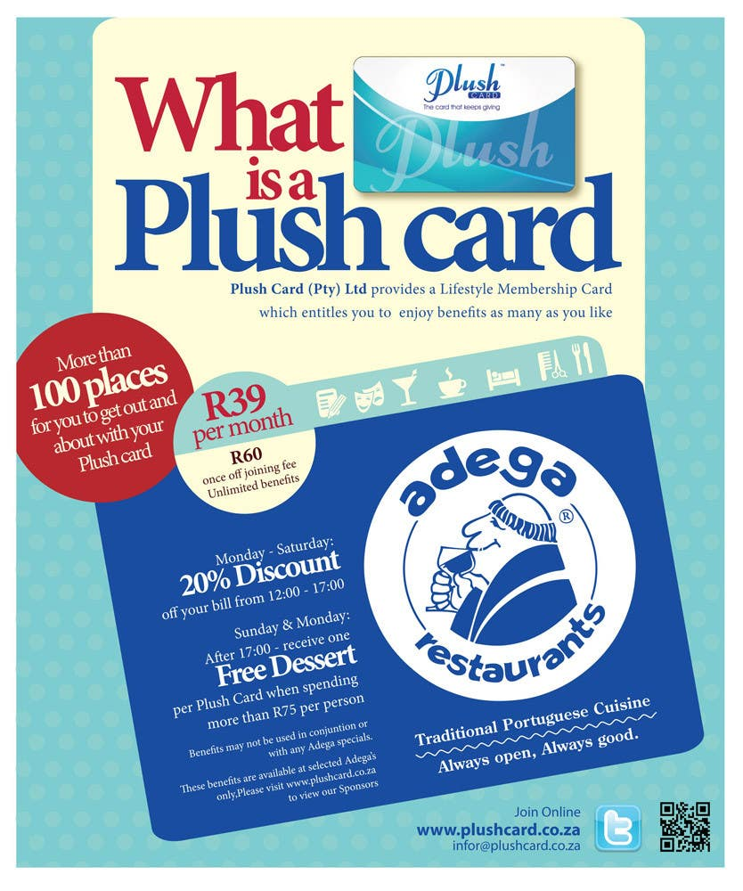 Inscrição nº                                         48                                      do Concurso para                                         Magazine Advert redesign for Plush Card (Pty) Ltd