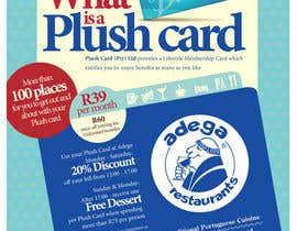 #53 untuk Magazine Advert redesign for Plush Card (Pty) Ltd oleh witelion