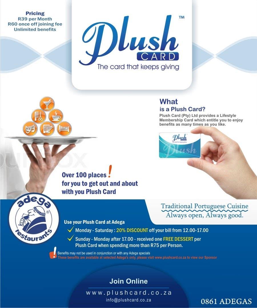 Inscrição nº                                         51                                      do Concurso para                                         Magazine Advert redesign for Plush Card (Pty) Ltd