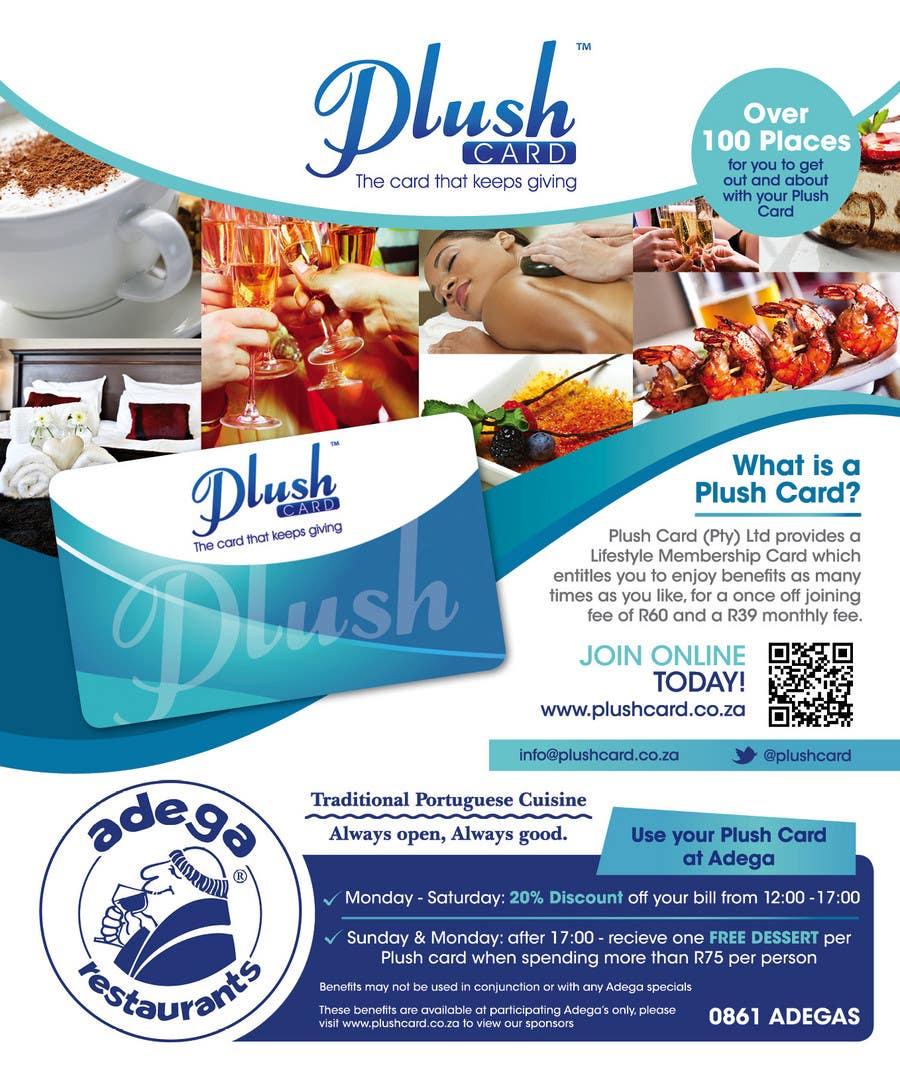 Inscrição nº                                         67                                      do Concurso para                                         Magazine Advert redesign for Plush Card (Pty) Ltd