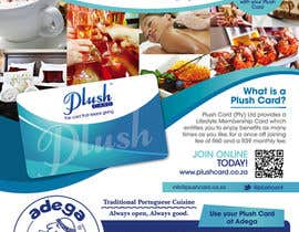 #67 untuk Magazine Advert redesign for Plush Card (Pty) Ltd oleh mishyroach