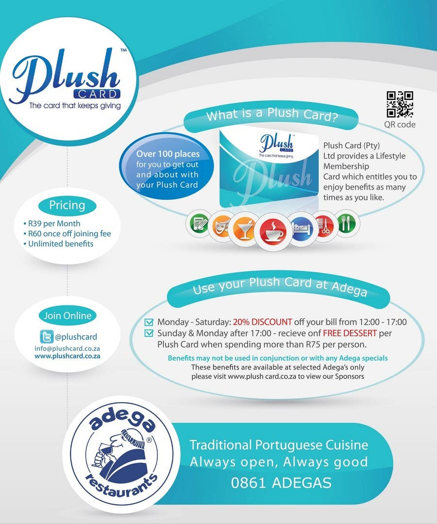 Contest Entry #                                        22                                      for                                         Magazine Advert redesign for Plush Card (Pty) Ltd