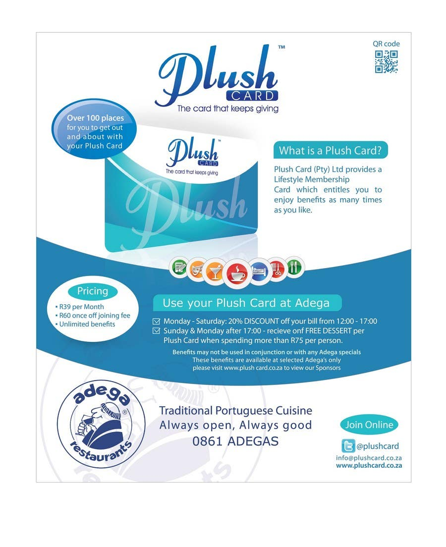 Inscrição nº                                         64                                      do Concurso para                                         Magazine Advert redesign for Plush Card (Pty) Ltd