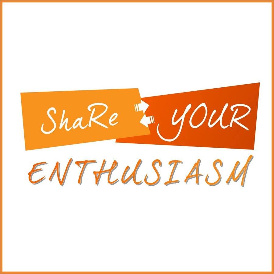 Proposition n°                                        516                                      du concours                                         Logo Design for Share your enthusiasm