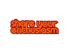 nº 590 pour Logo Design for Share your enthusiasm par winarto2012