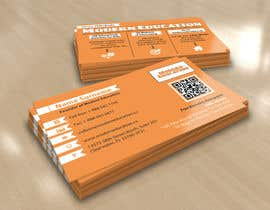 nº 18 pour Design some Business Cards for Modern Education par TheBrainwiz
