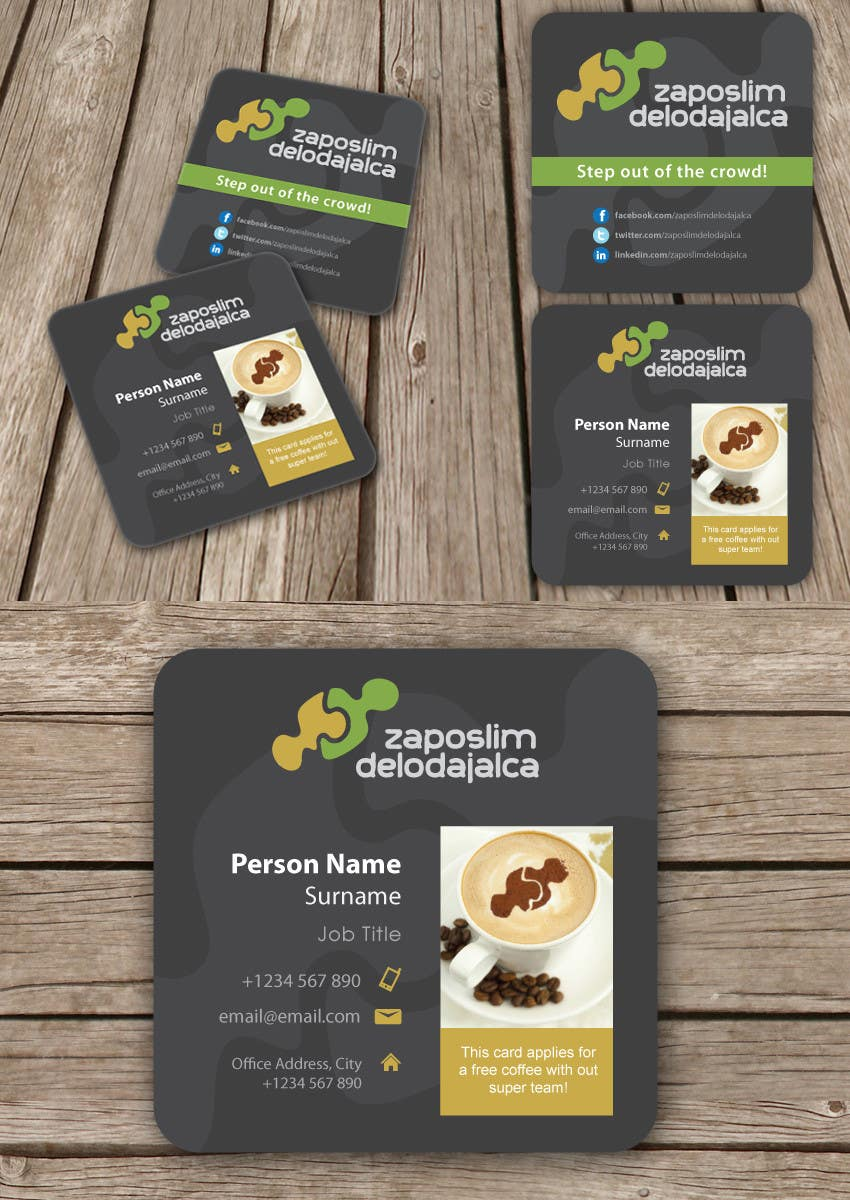 Contest Entry #68 for Business Card Design for ZD institute