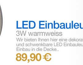 #51 para Banner Ad Design for LED shop por Coriakin