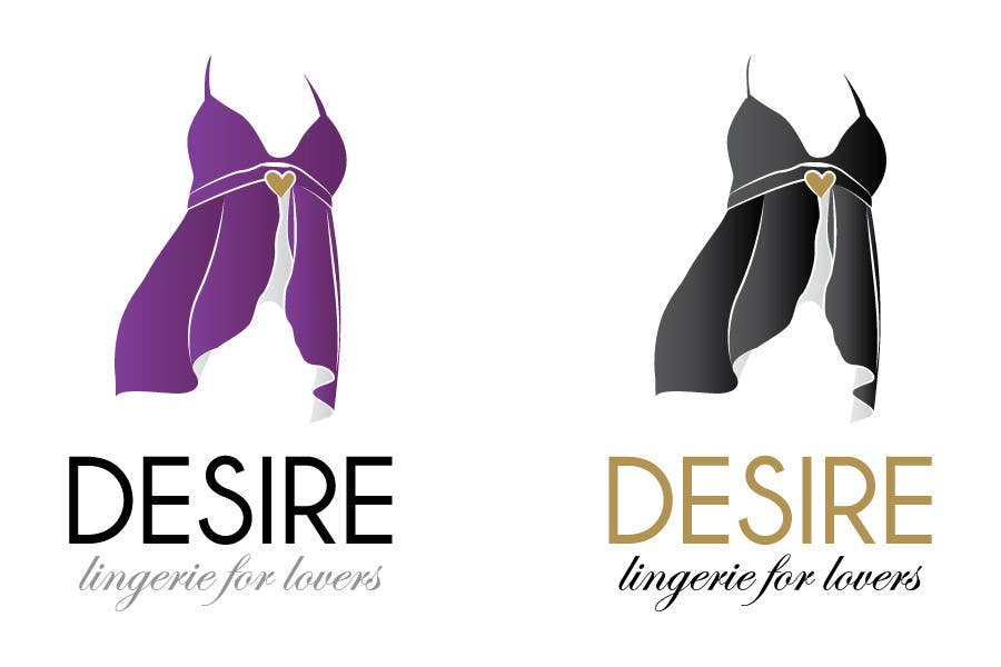 Participación en el concurso Nro.                                        240                                      para                                         Logo Design for Desire Lingerie for Lovers