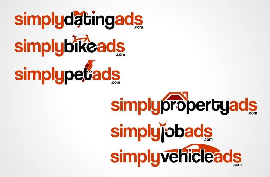 Конкурсная заявка №35 для Logo Design for simplyTHEMEWORDads.com (THEMEWORDS: PET, JOB, PROPERTY, BIKE, VEHICLE, DATING)