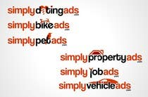 Logo Design Конкурсная работа №26 для Logo Design for simplyTHEMEWORDads.com (THEMEWORDS: PET, JOB, PROPERTY, BIKE, VEHICLE, DATING)